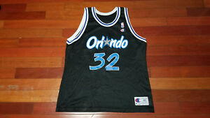 aa870e59757 Vtg mens Champion Orlando Magic Shaquille O'neal jersey basketball ...