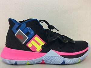 22efa873a870 Nike Kyrie Irving 5 Just Do It Black Volt Hyper Pink AO2918 003 Size ...