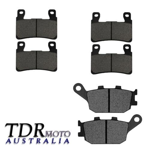 NEW Front /& Rear Brake Pads Set for Honda 2003 2004 CBR600 RR CBR 600RR
