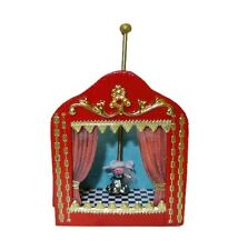 IGMA Artisan Judith Orr Dancing Fairy Puppet Theater 1:12 Dollhouse Miniatures