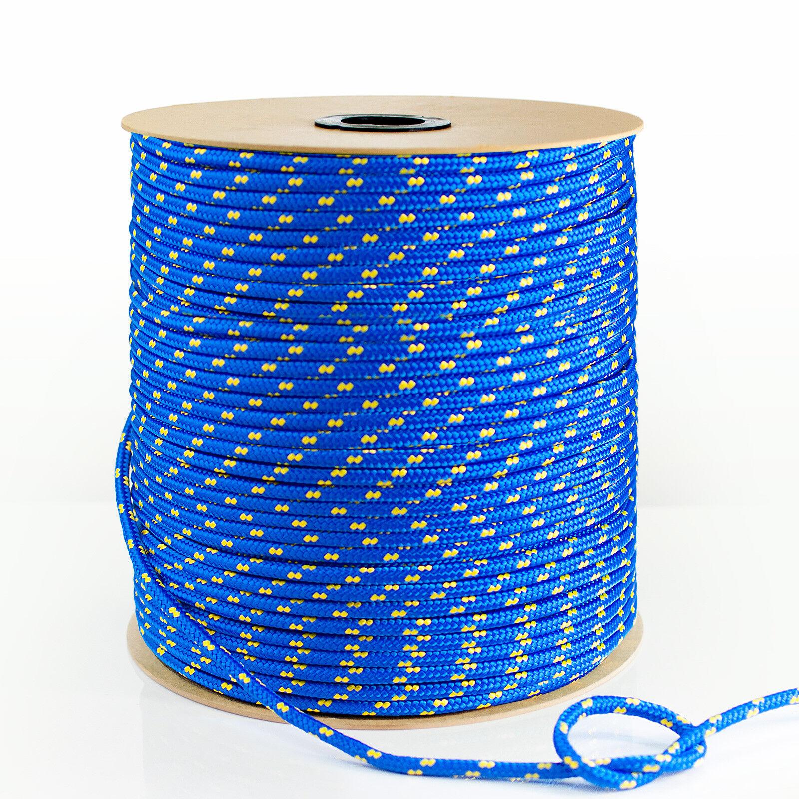 Polypropylen Seil BLAU BLAU BLAU ab 1m Flechtleine Tauwerk Polypropylenseil PP Seile 646569