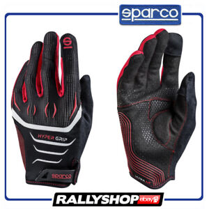 SPARCO-GAMING-GLOVES-Hypergrip-Rally-Race-Racing-Game-Microfibre-Gamer-Size-M
