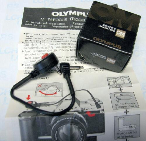 In-Focus Trigger Cord for OM-30, Winder, 35-70mm//F4 Auto Focus lens OLYMPUS M