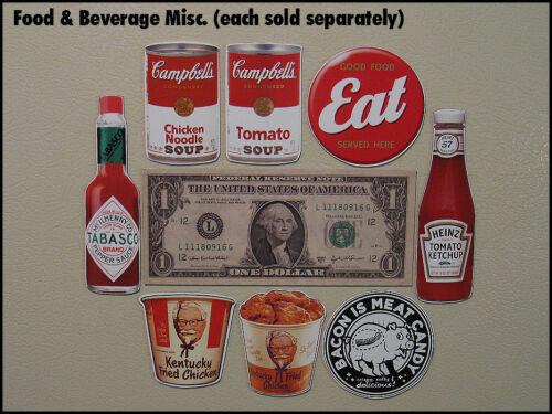 Fridge Fun Refrigerator Magnet SEA MONKEY GROWTH FOOD Box Art Nostalgia