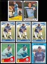 1979-1985 Brian Allard Card Lot - Spring Valley IL, Western Illinois Univ., G114
