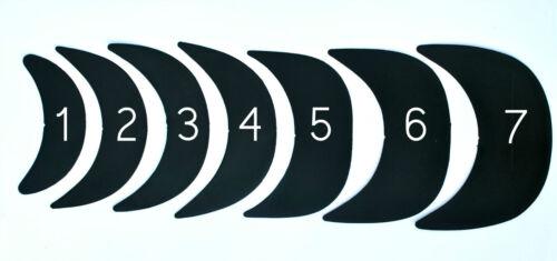 Components Brim Craft Hat BLACK//WHITE many sizes 3 x Hat Making Visor Insert