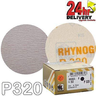 Indasa Rhynogrip HT Ultravent Line 150mm 6 Sanding Discs P1000 Box of 50