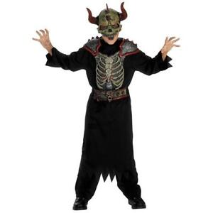 Image is loading GATEKEEPER-COSTUME-Underworld-Demon-Boys-Medium-Halloween -Monster-  sc 1 st  eBay & GATEKEEPER COSTUME Underworld Demon Boys Medium Halloween Monster ...