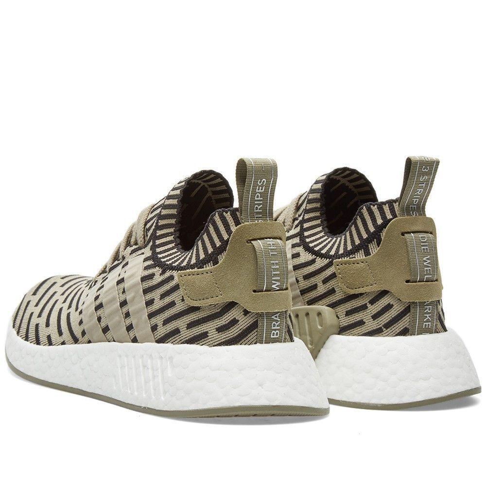 cheaper 2ec70 28391 ... Adidas Adidas Adidas nmd r2 pk ba7198 primeknit taglia 9 tracce cargo  nero pennino autentico 598c62