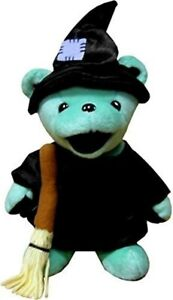 Details about Stuffed Animal Grateful Dead BEAN BEAR 7 Inch HOLIDAY WICKED  Japan with Trackng