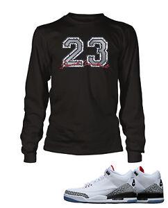84e8c91e7521f6 T-shirts 23 Graphic Tee shirt To match AIR JORDAN 5 WHITE CEMENT Shoe  Custom Pro Club Tee
