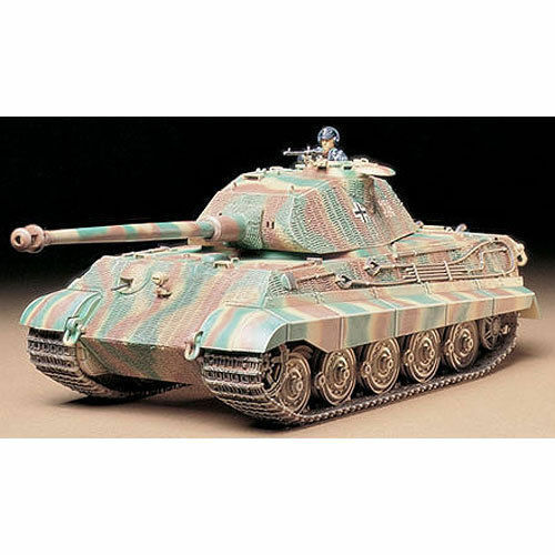 TAMIYA 35169 King Tiger Tank Porsche Turret 1 35 THE TIGER COLLECTION