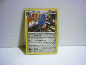 Lucario-holo-110pv-63-124-XY10-Impact-des-Destins-Carte-Pokemon-Rare