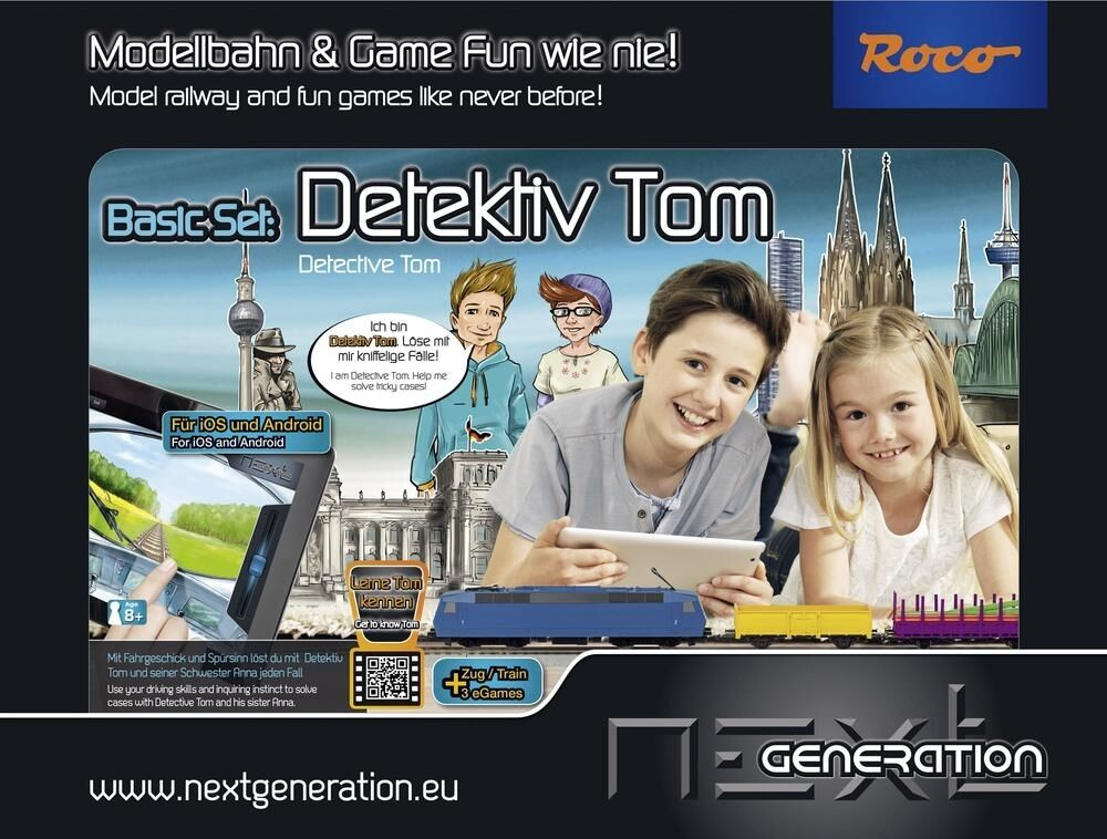 Modelo ferroviario & Game Fun via Tablet-PC Smartphone roco 51401 h0 Next Generation