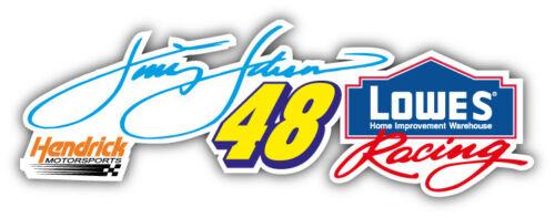 5/'/' 6/'/' or 8/'/' 3/'/' 48 Jimmie Johnson Nascar Racing Car Sticker Decal