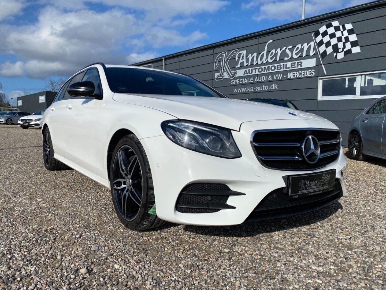 Mercedes E220 d 2,0 AMG Line stc. aut. 5d - 379.900 kr.