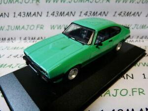 voiture-1-43-CORGI-VANGUARDS-FORD-CAPRI-MK3-3-0S-vert-menthe