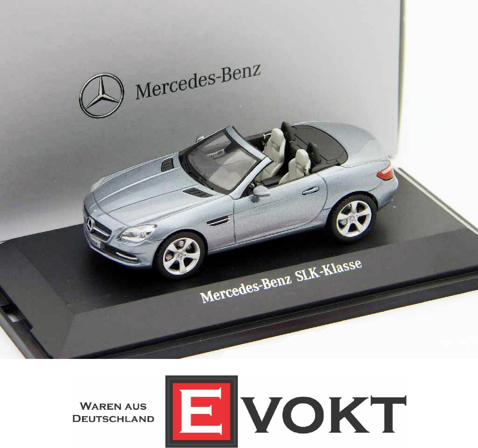 Mercedes-Benz SLK  Convertible Roadster Galenitargent Metallic 1 43  économiser jusqu'à 70%