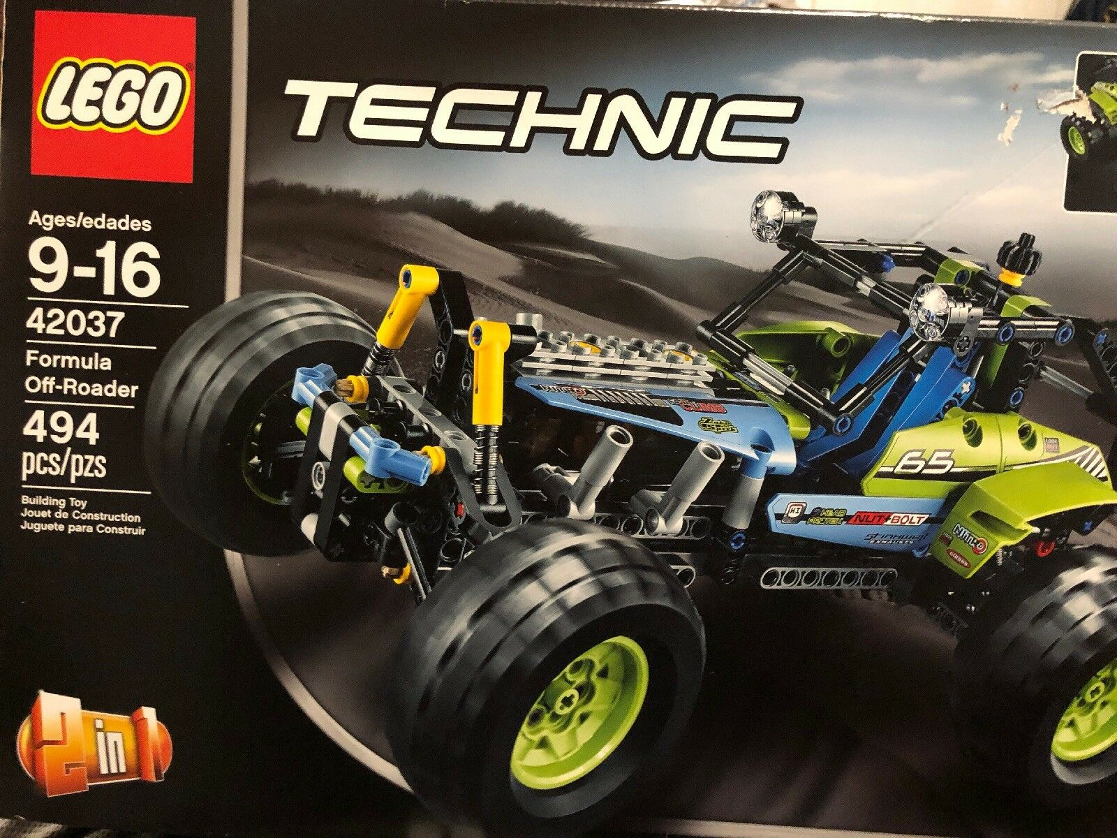 Lego Technic 42037 Formula Off Roader 2 in 1 Muscle Racer
