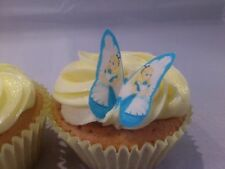 24 **mini** Alice in Wonderland Butterflies *SWEET* Edible Cupcake Decorations
