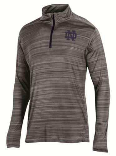 Notre Dame Fighting Irish NCAA Champion Full Blitz Men/'s 1//4 Zip Pullover Shirt