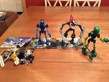 LEGO Bionicle Figure Lot Of (2) Sets 8533 8616 W/ Books