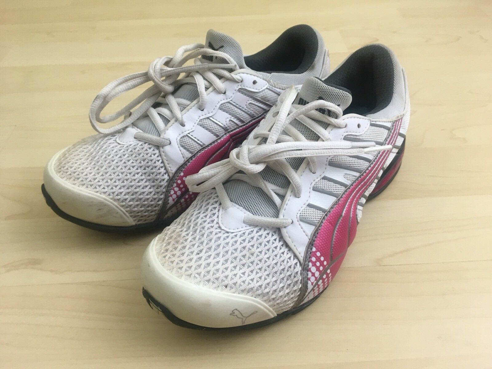 Puma Womens Pink Gray White IOCELL