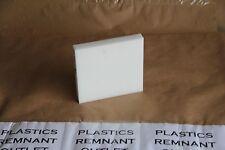 "1"" Delrin Acetal Sheet Natural 6.5""x7"" Cnc Millstock Plastic 1318"