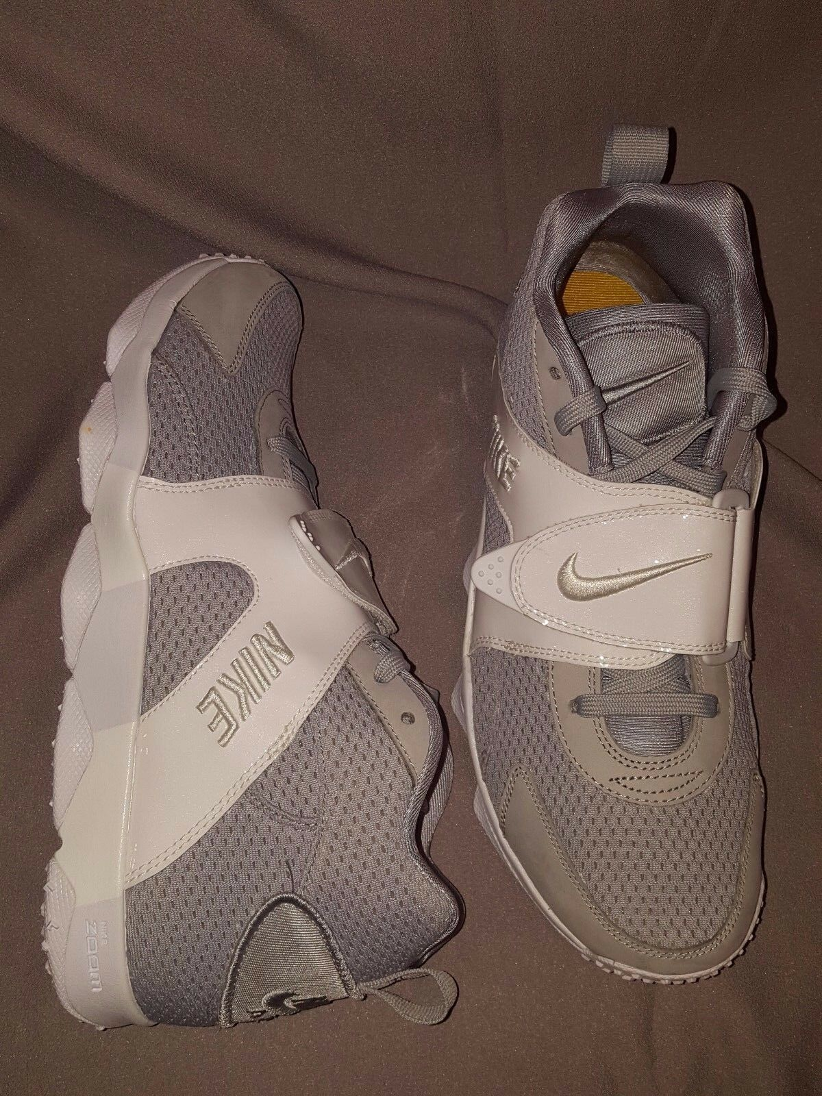 NIKE ZOOM VEER Gris blanc 844675 011 homme chaussures US 11 NEW IN BOX NIB