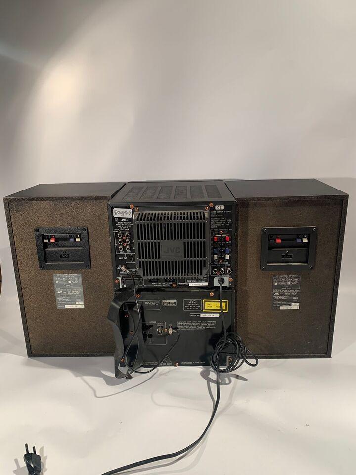 Stereoanlæg , JVC, CA-S700R