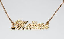 MELISSA 18ct Gold Plating Necklace With Name - Pendant Stylish Custom Made Gifts