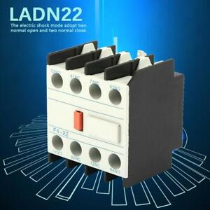 F4-22 2NO 2NC Auxiliary Contact Block Connector For Contactor Industrial Mounted