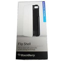 BlackBerry Z10 ACC-49284-302 Flip Shell Full Protection Case Black Power Saving