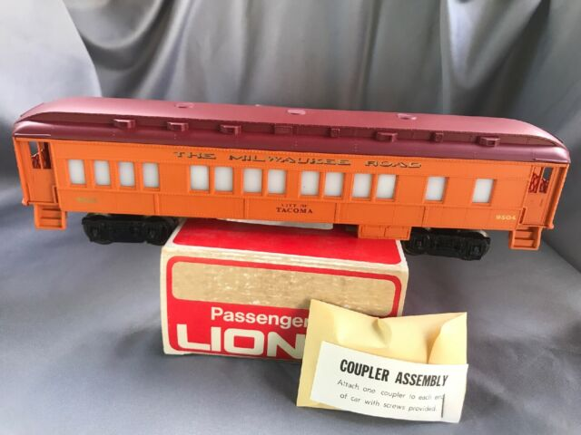 Lionel Milwaukee Road 9504 City of Tacoma Lighted Passenger Car for sale online