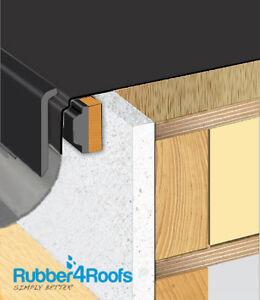 Gutter Drip Trim For Epdm Rubber Roofing U Pvc Ebay