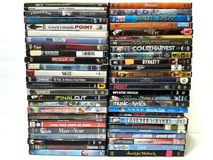 Lot-of-53-Bulk-Used-DVD-Mixed-Wholesale-Movie-DVDs-No-Duplicates