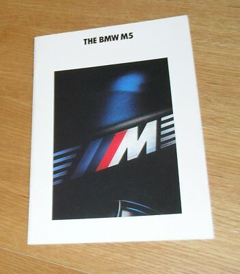 BMW M3 E36 Coupe M5 E34 Limousine M5 E34 Touring Prospekt Brochure von 1993
