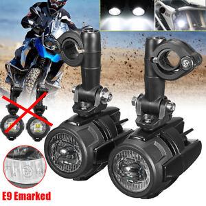 FARETTI-MOTO-LED-FARO-KIT-OMOLOGATI-Per-BMW-R1200GS-ADV-F800GS-F700GS-F650GS