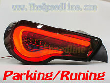 VALENTI 12 13 14 15 16 TOYOTA GT-86 SCION FR-S LED TAIL LIGHT LAMP FULL SMOKE