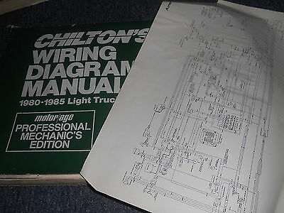 1985 Dodge Ram 50 Plymouth Arrow Wiring Diagrams Sheets Set Ebay