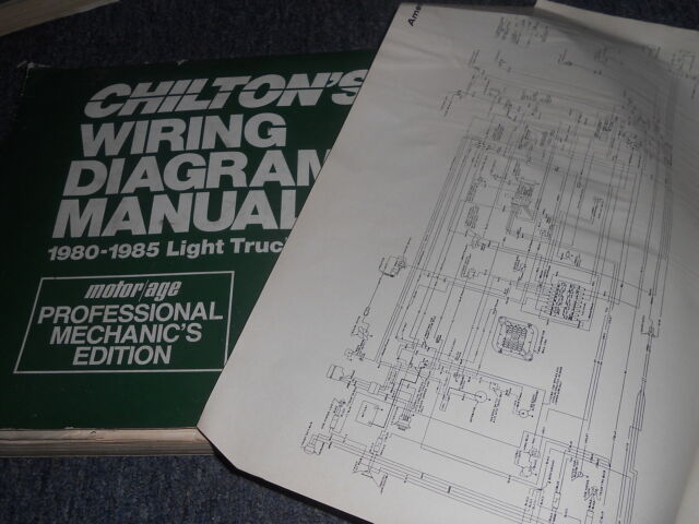 1985 DODGE DW 100 RAMCHARGER 350 WIRING DIAGRAMS SHEETS ...