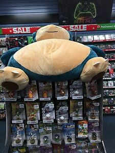 GIANT OFFICIAL POKEMON SNORLAX BEAN BAG CHAIR NEW