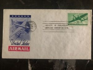 1941-Baltimore-USA-First-Day-Cover-FDC-American-Philatelic-Society-Station-B