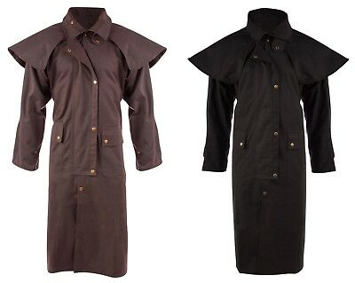 Mens Oil Cloth Oilskin Western Australian Drover