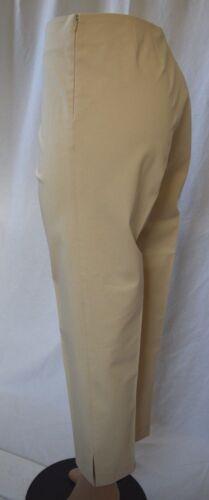 Blend Pants Tecno Capri Leggiadro Cotton le021 Taglia Side Zipper 12 YStxq