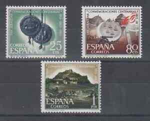 ESPANA-1963-MNH-NUEVO-SIN-FIJASELLOS-SPAIN-EDIFIL-1516-18-SAN-SEBASTIAN