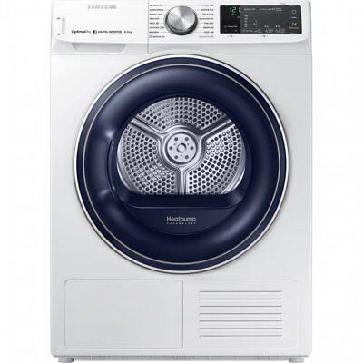 Samsung DV80N62542W 8Kg Heat Pump Tumble Dryer White A+++ Rated Freestanding
