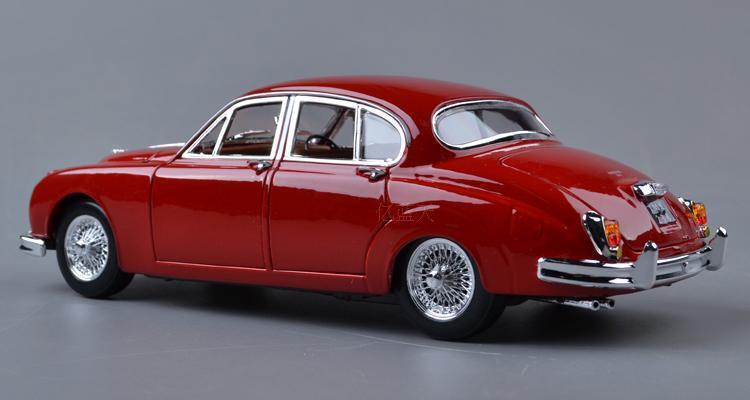 Jaguar mark ii 1959 klassische 118 aus metallegierungen auto model (l)
