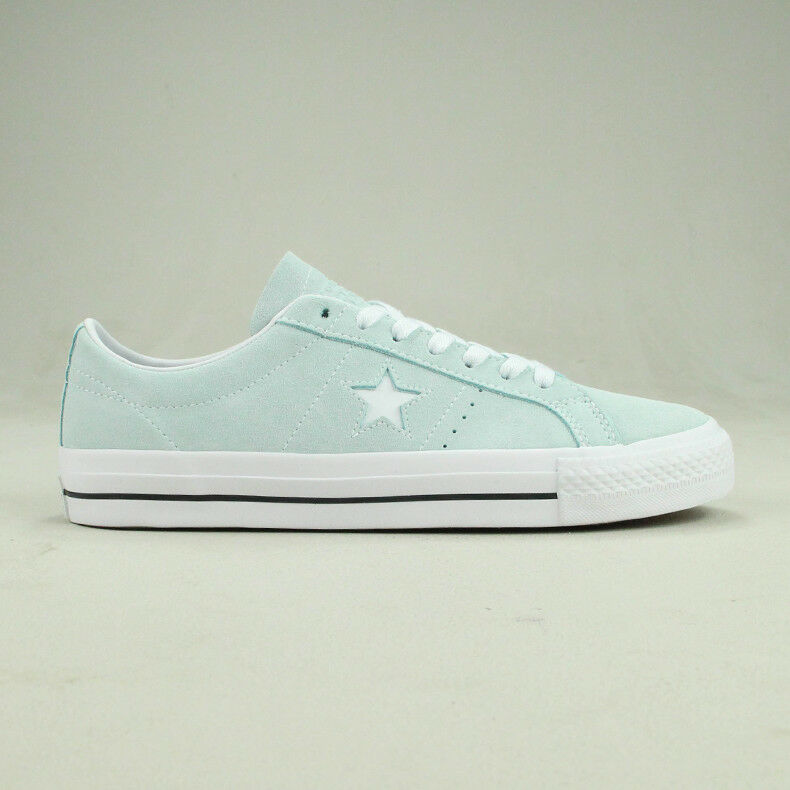 Converse One Star Pro Ox Trainers schuhe in Light Blau in UK Größe 6,7,8,9,10,11