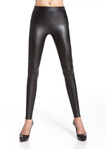 Elasticizzato Cuoio Sigaretta A Moda Finta Donna Arte Elastico Pantaloni Pelle qXvHwTfa